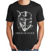 Iron Man house of stark for men T shirt