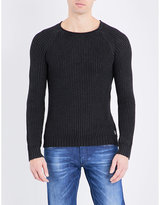 Replay Crewneck Cotton Jumper