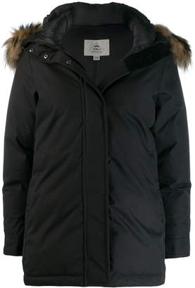 Pyrenex fur hooded coat