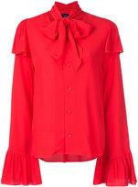 G.V.G.V. rayon crepe pussy bow blouse - women - Rayon - 34