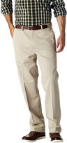Haggar Work to Weekend Straight-Fit Flat-Front Khakis