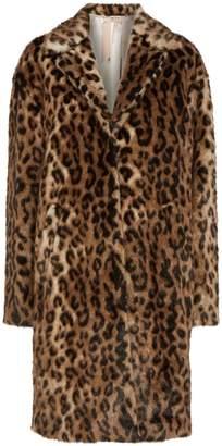 N°21 Leopard Print Faux Fur Coat