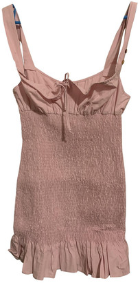 Ciao Lucia Pink Cotton - elasthane Dress for Women