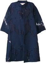 Mantu embroidered coat