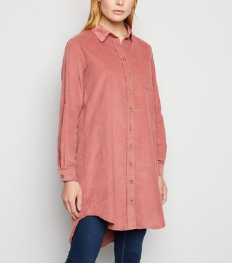 New Look Mid Corduroy Shirt Dress