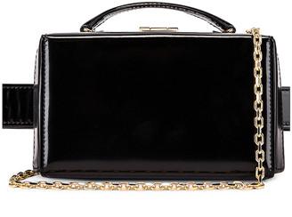 Mark Cross Grace Box Belt Bag in Black | FWRD