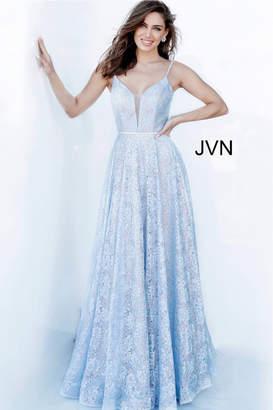 Jovani Light Blue Ballgown