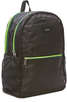 State Bags Large Kane Double Pocket Backpack