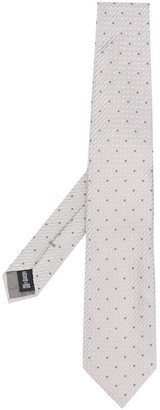 Emporio Armani Woven Pin-Dot Tie