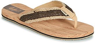 Cool shoe KALISKA women's Flip flops / Sandals (Shoes) in Beige