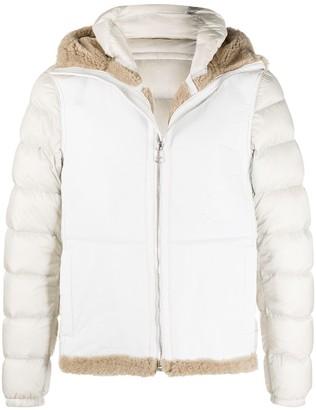 Ten C Shearling Puffer Jacket