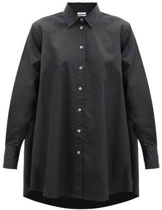 Co A-line Cotton-sateen Shirt - Black