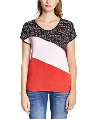 Street One Women's 313946 Ramona T-Shirt,16 (Size: )