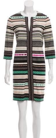 Diane von Furstenberg Abstract Mini Dress