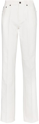 The Row Carlton mid-rise straight jeans