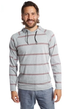 Px Men's Striped T-Shirt Hoodie