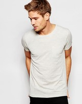 Esprit T-Shirt with Front Pocket