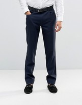 Asos Skinny Smart Trousers With 5 Pockets In Navy