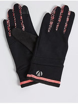 M&S Collection Printed Running Gloves