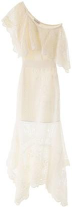 Alexander McQueen Crochet One-shoulder Dress