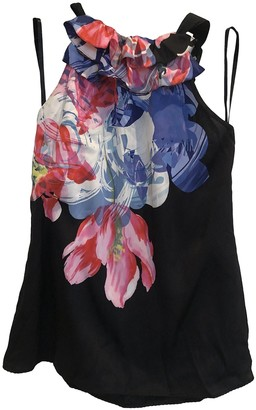 Elie Tahari Black Silk Top for Women