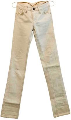Diesel Black Gold White Denim - Jeans Trousers for Women