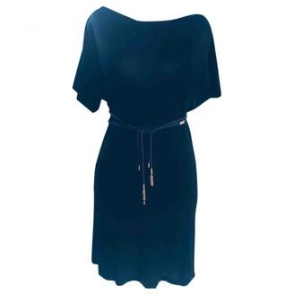 Louis Vuitton Black Viscose Dresses