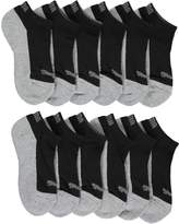"Puma Boys' ""Covered Heather"" 6-Pack Low Cut Socks"