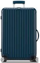 """Rimowa Salsa Deluxe Electronic Tag Yachting Blue 26"""" Multiwheel Luggage"""