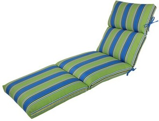 Bay Isle Home Reversible Indoor/Outdoor Chaise Lounge Cushion