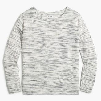 J.Crew Soft slub long-sleeve top