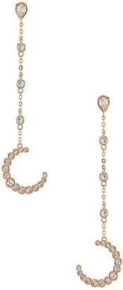 joolz by Martha Calvo The Moon Drop Earrings
