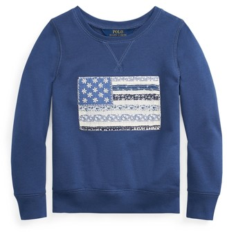 Ralph Lauren Flag French Terry Pullover
