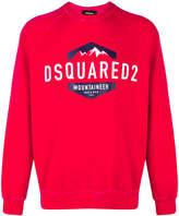 DSQUARED2 mountaineer logo sweatshirt