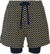 NO KA 'OI No Ka'Oi Aina jacquard-knit shorts