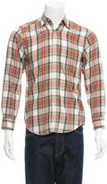 Steven Alan Plaid Flannel Shirt