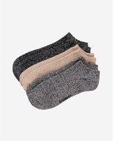Express 3-PACK neutral ankle socks