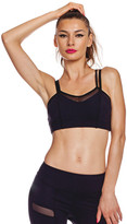 Nina B Roze - 2Tone Sports Bra - Black