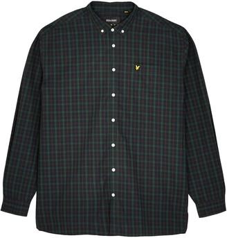 Lyle & Scott Big Check Poplin Shirt - Navy/Green