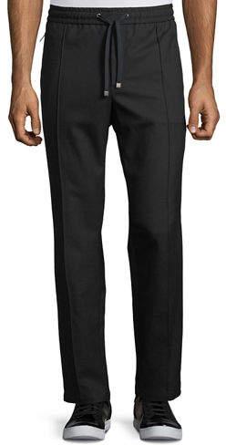 Dolce & Gabbana Wool-Cotton Jogger Pants