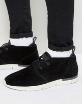 Tommy Hilfiger Tobias Mid Suede Sneakers