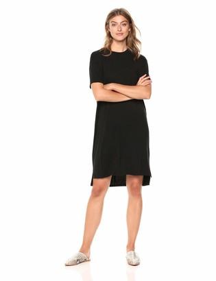 Daily Ritual Amazon Brand Women's Jersey Short-Sleeve Boxy Pocket T-Shirt Dress