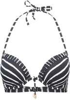 Watercult ISLAND ESCAPE Bikini top black/off white