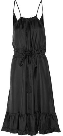 Raoul Prairie Ruffled Twill Dress