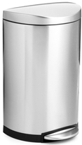 Simplehuman 40-Liter Deluxe Semi-Round Step Trash Can