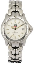 Tag Heuer S/el WG1212-KO Stainless Steel with White Dial 34mm Mens Watch