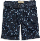 Lucky Brand Shaped Pattern Short