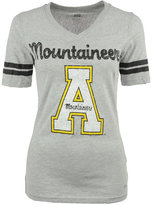 Soffe Women's Short-Sleeve Appalachian State Mountaineers V-Neck T-Shirt