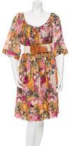 3.1 Phillip Lim Floral Print Midi Dress