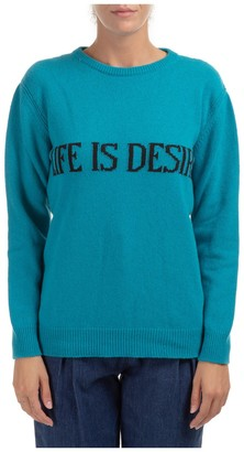 Alberta Ferretti Life Is Desire Knit Sweater